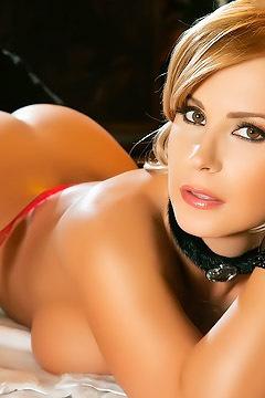 Sexy Playmate Dora Meszaros