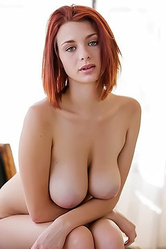 Redhead Sweetie With Amazing Tits