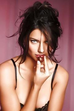 Brazilian Supermodel Adriana Lima