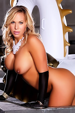 Olivia Austin Takes Off Her Skirt
