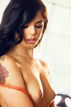 Stunning In Nude Stockings