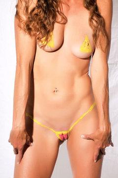 Body Painted Yummi Sophie