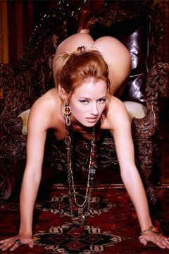 Naked Redhead Babe Gabi