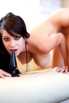 Talia Shepard in da butt