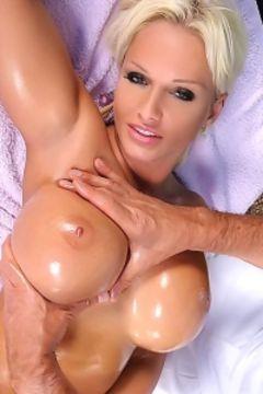 Jordan big tits toyed