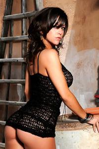Aimee Luis tight dress