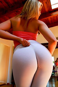 Alexis Texas In Yoga Pants