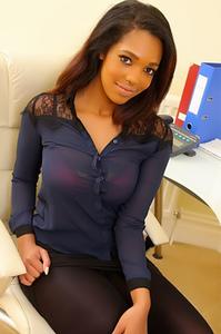 Sexy Ebony Rehea
