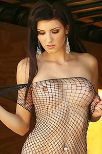 Autumn Prescott Fishnet