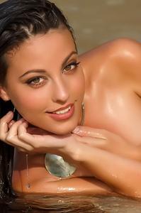 Wet Teen Lorena B Stripping