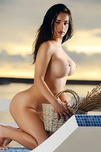Croatian Model Ena Friedrich