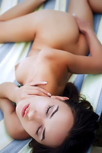 Gloria Sol Plays With Herself