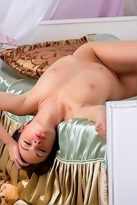 Sexy Teen Katie In Pink Lingerie