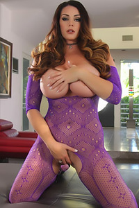 Tessa In Her Sexy Mint Bikini