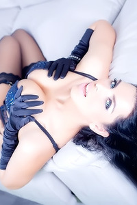 Sophistication In Black Gloves