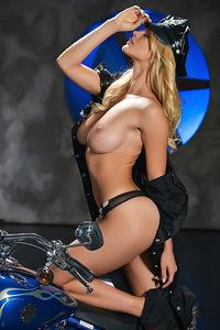 Nasty Blonde Yaryna Born To Ride