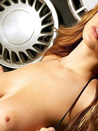 Shay Laren Exposes Natural Boobs 00