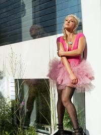Lena Nicole Poses In Sexy Stockings 00