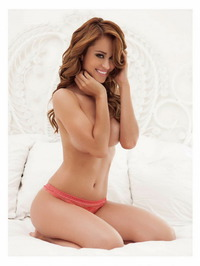 Yanet Garcia Trying To Hide Her Big Boobs 06