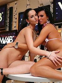 Sexy Lesbians Ashley Bulgari 09