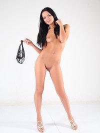 Skinny Girl Alexandra Slides Off Her Lingerie 09
