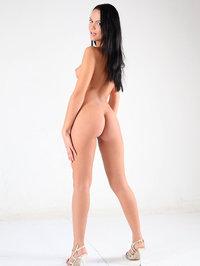 Skinny Girl Alexandra Slides Off Her Lingerie 10