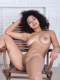 Sara Strips And Stretching Pussy Labia 10