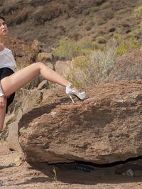 Peeing On The Rocks 01