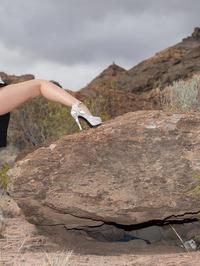 Peeing On The Rocks 03