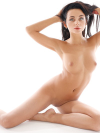 Inga Strips Off Her Sexy Lingerie 10