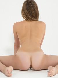 Flexible Russian Teen Kira Posing Naked 14