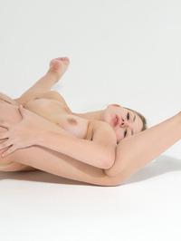 Flexible Russian Teen Kira Posing Naked 15