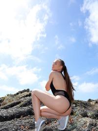 Naked Angel In Lava Field 01