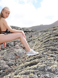 Naked Angel In Lava Field 08