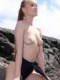 Naked Angel In Lava Field 12