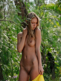 Anjelica Naked In The Forest 06