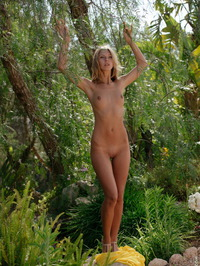 Anjelica Naked In The Forest 09