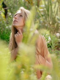 Anjelica Naked In The Forest 18